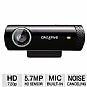 Creative Labs 73VF070000000 Live! Cam Chat HD Web Camera - 720p, Noise Canceling Microphone, Plug & Chat, Black