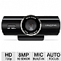 Creative VF0750 Live Cam Connect HD Webcam - USB, 8 Megapixels, 1280 x 720 Video Resolution, Built-in Noise-Cancelling Microphone, Auto Focus Lens