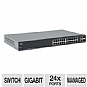 Cisco Small Business SG200-26 Managed Switch - 24x 10/100/1000 Mbps Ports, 2x Combo mini-GBIC (SLM2024T-NA)