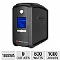 CyberPower CP1000AVRLCD UPS Battery Backup - 1000VA, 600W, LCD, AVR
