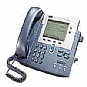 Cisco IP Phone 7940G - VoIP phone - H.323, MGCP, SCCP, SIP - silver, dark gray - refurbished