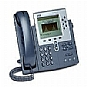 Cisco IP Phone 7960G - VoIP phone - H.323, MGCP, SCCP, SIP - silver, dark gray - refurbished