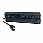 "APC Basic Rack-Mount PDU - Power distribution strip ( rack-mountable ) - AC 120 V - 1.8 kW - 10 output connector(s) - 1U - 19"" (Refurbished)"