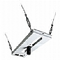 Epson Adjustable Suspended Ceiling Channel Kit - Mounting kit ( mounting tube, ceiling mount panel, escutcheon ring ) for projector - white (Refurbished)