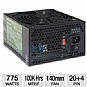 Alternate view 1 for DiabloTek UL Series ATX 775W Power Supply