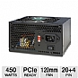 Alternate view 1 for DiabloTek PHD450 450-Watt Power Supply