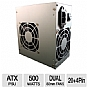 Alternate view 1 for Diablotek PSDA500 DA Series ATX 500W Power Supply