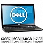 Alternate view 1 for Dell Inspiron 17.3&quot; Core i7 640GB HDD Notebook