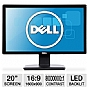 "Alternate view 1 for Dell IN2030M 20"" Class Widescreen LED Monitor"