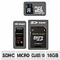Alternate view 1 for Dane-Elec DA-3IN1C1016G-R 16GB Micro SDHC Card