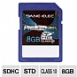 Alternate view 1 for Dane-Elec 8GB High Speed SDHC Flash Card
