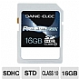 Alternate view 1 for Dane-Elec 16GB High Speed SDHC Flash Card