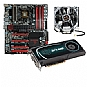 EVGA GTX 580 and X58 Board and CPU Cooler Bundle