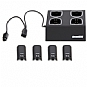 Alternate view 1 for WII QUAD DOCK - BLACK