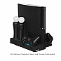 Dreamgear DGPS3-3809 Power Stand for PS3 Slim and PS3 Move - PlayStation 3/PS3 Slim Compatible, Charges Multiple Controllers, 4 Additional USB Ports, LED Charge Indicators