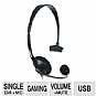 Alternate view 1 for Dreamgear DGPS3-3828 Broadcaster Gaming Headset