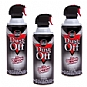 Falcon DPSXL3 Dust-Off Compressed Air Duster - 3-Pack, 10oz. cans