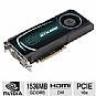 Alternate view 1 for EVGA GeForce GTX 580 Fermi SuperClocked 1536MB  