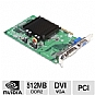 Alternate view 1 for EVGA GeForce 6200 512MB DDR2 PCI w/DVI & VGA