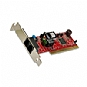 Alternate view 1 for HiRO H50083 56K V.92 Low Profile PCI Modem