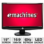 "Alternate view 1 for eMachines E182HL bm 19"" Widescreen LED Monitor"