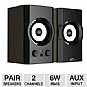 Alternate view 1 for Eagle Tech ET-AR302-BK Soundstage Speakers