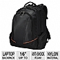 Everki EKP119 Flight Checkpoint Friendly Backpack - Fits Up to 16&quot; Laptop, Black