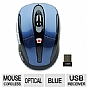 Alternate view 1 for Gear Head MP2650BLU Optical Wireless Mouse