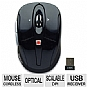 Gear Head MPT3300BLK Optical Wireless Mouse
