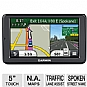 "Garmin nuvi 2555LMT Auto GPS - 5"" Touchscreen, MicroSD Slot Card, Spoken Streets Names, Custom POIs, Lifetime Maps, Lifetime Traffic, North America Maps (Refurbished)"
