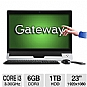 "Alternate view 1 for Gateway ZX6971 Core i3, 6GB, 1TB, 23"" Touch AIO"
