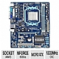 Alternate view 1 for GIGABYTE M68MT nForce 630a Socket AM3 Motherboard