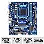 GIGABYTE GA-78LMT-S2P AMD 760 Motherboard - Micro ATX, Socket AM3+, AMD 760G Chipset, 1333MHz DDR3, SATA II (3Gb/s), RAID, 7.1-CH Audio, Gigabit LAN, USB 2.0 (GA-78LMT-S2P)