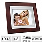 "Alternate view 1 for GiiNii 10.4"" Artforme Digital Picture Frame"