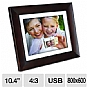 "Alternate view 1 for Phillips SPF3410 10.4"" Digital Picture Frame"