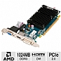 Alternate view 1 for HIS Radeon HD 5450 1GB DDR3 PCIe, DVI/HDMI/VGA