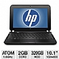 "Alternate view 1 for HP 10.1"" Atom 320GB HDD Netbook"
