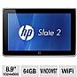 "Alternate view 1 for HP Slate 2 8.9"" 64GB SSD Tablet PC"