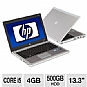 "HP ProBook 5330m LJ463UT Laptop Computer - Intel Core i5-2520M 2.5GHz, 4GB DDR3, 500GB HDD, 13.3"" Display, Backlit Keyboard, Windows 7 Professional 64-bit, Silver (Refurbished)"