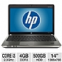 Alternate view 1 for HP 14&quot; Core i3 500GB HDD Notebook