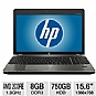 "Alternate view 1 for HP Probook 15.6"" AMD 8GB 750GB Windows 7Pro Laptop"