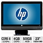 "Alternate view 1 for HP Compaq 23"" Core i5 500GB All-In-One PC"