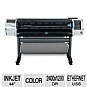 Alternate view 1 for HP T1200ps  DesignJet Large Format Printer