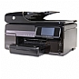 HP 8500A CM756A OfficeJetPro All-in-One Color Inkjet Printer - 1200 x 1200 dpi Black, 4800 x 1200 Optimized dpi Color, 35 ppm Black, 34 ppm Color, WiFi, Duplex, USB, 128MB, Scan, Copy, Fax