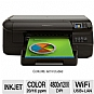HP Officejet Pro 8100 CM752A Wireless Inkjet Printer - 20ppm Black, 16ppm Color, 4800 x 1200 dpi, Network Ready, 250 Sheets Tray, Wi-FI, Ethernet, AirPrint, ePrint, Print from mobile Device