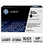 Alternate view 1 for HP 80A Black LaserJet Toner Cartridge