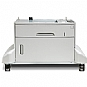 Alternate view 1 for HP Lj M5035 1-tray Cabinet 500-sheet input tray