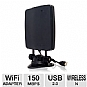 Alternate view 1 for Hawking 150Mbps Hi-Gain Wireless N USB 2.0 Adapter