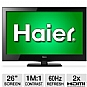 "Alternate view 1 for Haier 26"" LE26B13200 720p 60Hz LED HDTV"