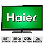 "Alternate view 1 for Haier 55"" Class LED HDTV"